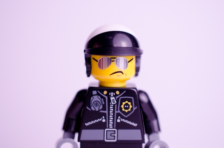 Lego Movie Bad Cop figure